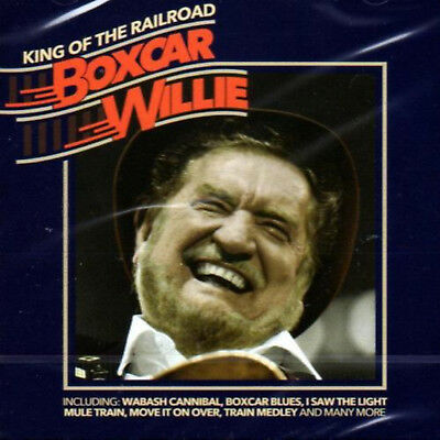 BOXCAR WILLIE * 21 Greatest Hits * NEW Sealed CD * King Of The Railroad