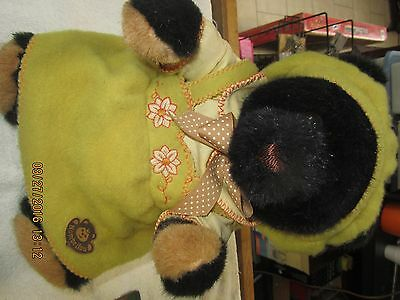 """Hermann-Teddy Original """"Nombrilou"""" Made in West-Germany Bear w/Tags"""