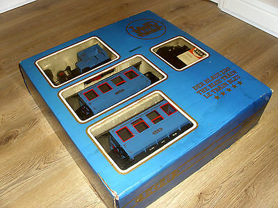 Boxed LGB G gauge Train Set