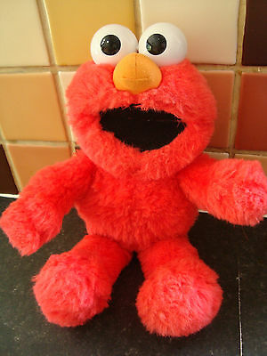 """Vintage 1995 Tyco 16"""" Abc Singing Tickle Me Elmo Soft Toy Fully Working Rare"""