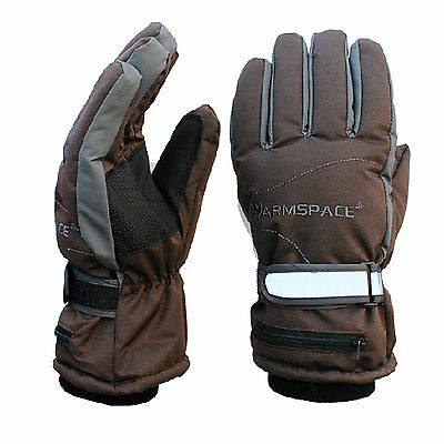 Global Vasion Electric Rechargeable Battery Heating Gloves for Women and Men ...
