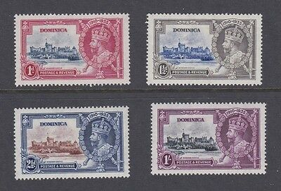 Stamps Dominica 1935 MH Siver Jubilee