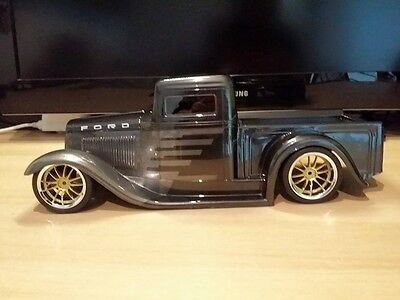 1:10 Body Hotrod Rat Rod 34er Ford Pick Up Truck Karosserie ( Clear +decals )