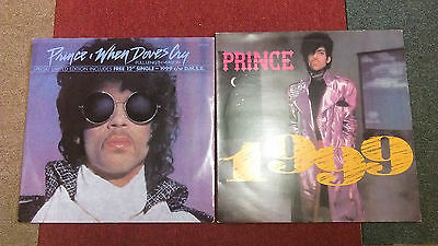 "Prince When Doves Cry 12"" Ltd Edition With 1999 12"""