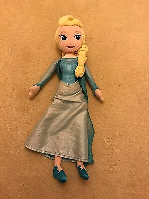 Official Disney Store Elsa From Frozen Soft Toy Plush