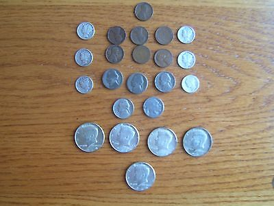 Large lot of old US coins with Silver!