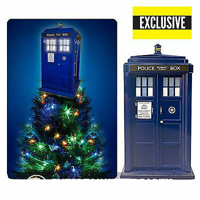 Doctor Who TARDIS Light-Up ChristmasTree Topper - Exclusive