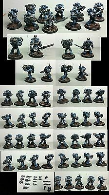 Warhammer 40k 40000 Space Marine Space Marines Ultramarines tactical squad