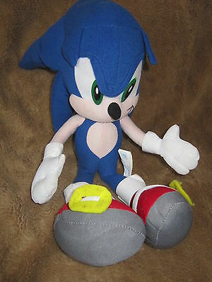 """Sonic The Hedgehog Soft Toy Approx 13"""" Tall"""