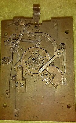 Antique Repeating Carriage Clock Movement