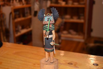 Richard Jose Superb Hopi Kachina/crow Mother/free Shipping/30 Day Listing