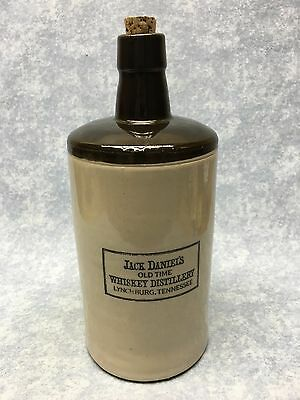 Jack Daniels Stoneware Collectable Old Time Whiskey Jug Tennessee Daniel's