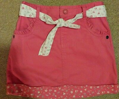 Girls M&S skirt with belt from Indigo range age 2-3 immaculate