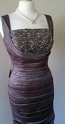 Gorgeous BNWT Mother of Bride Dress, Size 10, Cost £150, Mauve