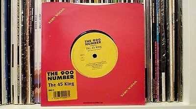 The 45 King & Lakim Shabazz 'The 900 Number' - RAP 45 - Dead Stock Copy