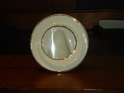 Ivory with 24K Gold trim round Lenox picture frame