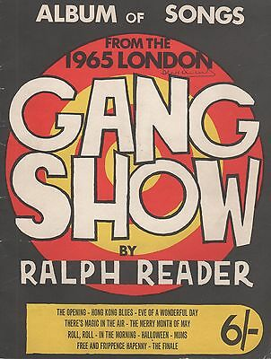 Album of Songs from the 1965 London Gang Show by Ralph Reader (1965)