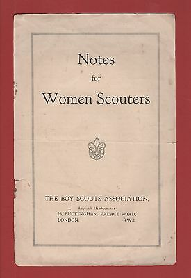 Notes for Women Scouters (The Boy Scouts Association)