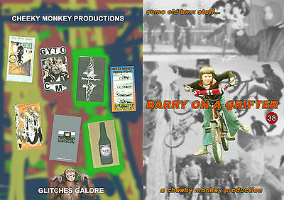 CHEEKY MONKEY PRODUCTIONS OLD SCHOOL BMX VIDEOS ON 4 DVDs - NEW & FREE/FAST POST