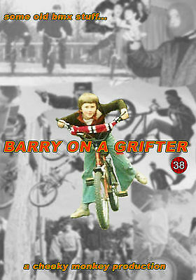 Barry On A Grifter Uk Old School Bmx Video 2 X Dvd By Cheeky Monkey Productions