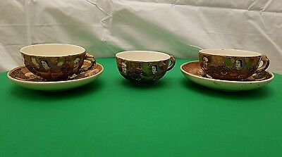 Antique Japanese cups