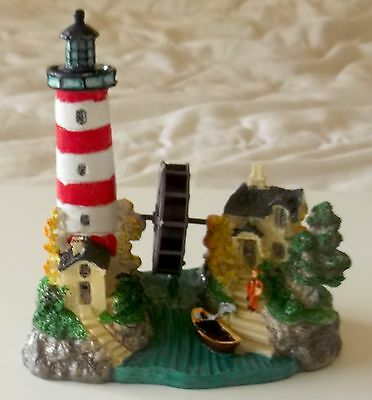 Lighthouse Ornament with Spinning Wheel