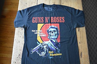 Guns N' Roses Official Sold Out Tour Shirt San Francisco AT&T Park 8/9/16 Large