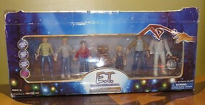 *e.t. The Extra Terrestrial* Limited Edition 7 Figure Collection & Case +