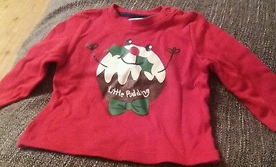baby boys christmas jumper age 3-6 months