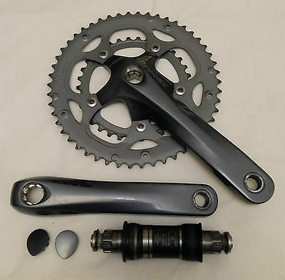 Shimano Claris FC-2450 Chainset Crank and Octalink BB Compact 50/34 - 170mm