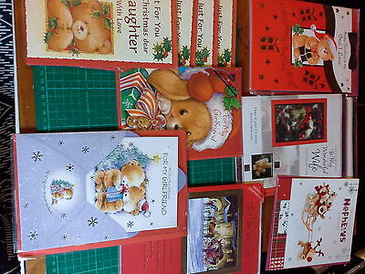 job lot of shop Christmas cards family