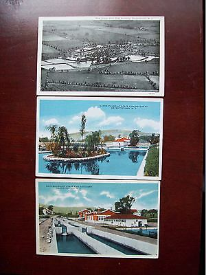 Hackettstown Post Cards New Jersey State Fish Hatchery Early Old Rare Post Cards