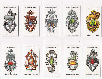 CARD COLLECTORS SOCIETY WILLS LUCK CHARMS 1923  MINT SET 50/50 repro