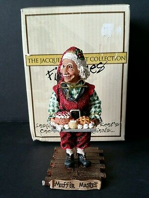 Jacqueline Kent Christmas Collection Muffin Master Figurine Collectors #345035