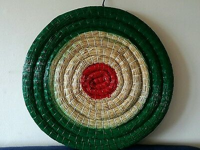 Straw Archery Target 80cm. The best quality, hand made!!! New colour, Green!!!