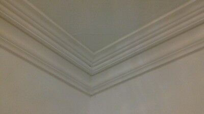 Handmade Plaster Coving x4 8ft 4 inch by 6 inches wide