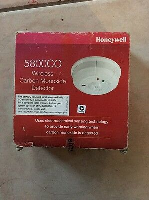 Honeywell 5800CO Wireless Carbon Monoxide Detector... Exp: July 2020 NEW !