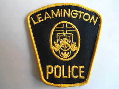 Leamington Police (Gold) Patch, Ontario, Canada, Police Crest