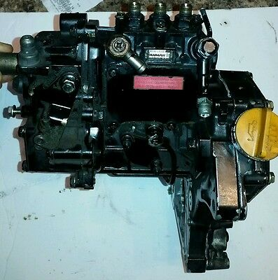 Thermo King Yanmar 3Tnv70 Diesel Engine Fuel Injectors And Pump 3 Cylinder 3.70