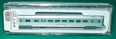 CON COR  N Scale Undecorated Budd COACH Passenger Car Micro Train Couplers
