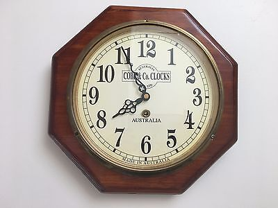 Cobb and Co railway wall clock