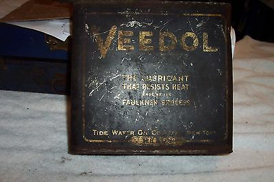 Veedol Lubricant Oil Can