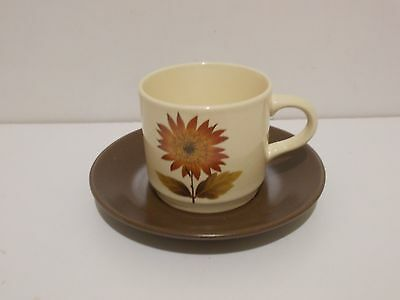 Cup & Saucer -Johnson of Australia-retro/vintage-replacements-flower pattern