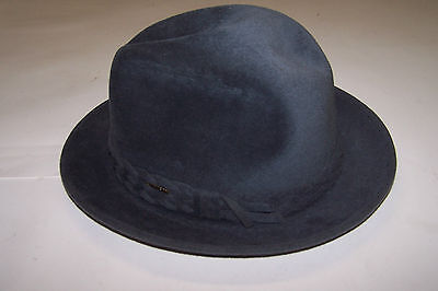 Vintage Imperial Stetson Fedora Hat in Original Box Size 7