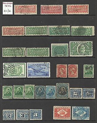 Old Canada BOB and registered stamps with extras.
