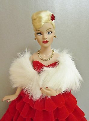 Tonner Tiny Kitty Collier VALENTINE Doll BW Body in RED VELVET CASCADE Outfit