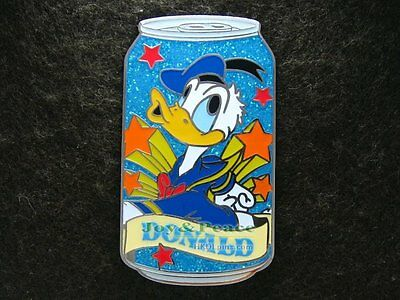 Disney Pin 2009 HKDL Mystery Tin Pin Soda Can Collection - Donald