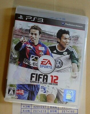 FIFA 12 PS3 PlayStation 3 game Japan Import