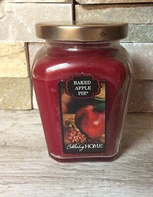 Homco Celebrating Homes Baked Apple Pie Candle in Jar
