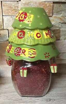 Homco Home Interiors Christmas Candke Shade and Fruit Spive Candle